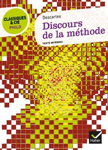 9782218971945: Classiques & Cie Philo - Discours de la méthode