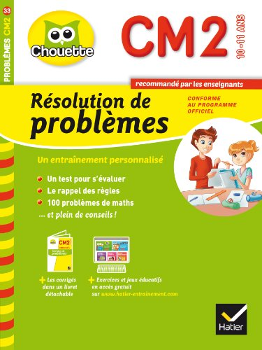 9782218975417: Collection Chouette: Resolution De Problemes Cm2 (10-11 Ans) (French Edition)