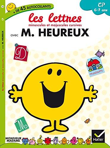 9782218975431: Monsieur Heureux - CP - Les lettres minuscules et majuscules cursives