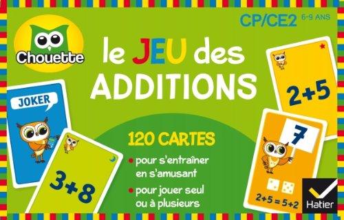 9782218975554: Le jeu des additions (Chouette Entraînement)
