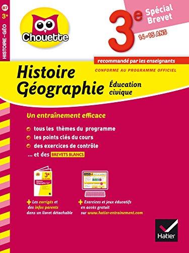 9782218976186: Collection Chouette - Francais: Histoire-Geographie 3e (14-15 ans)