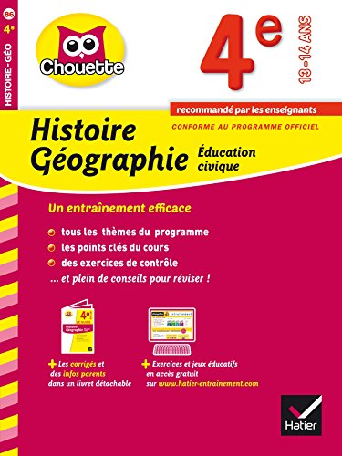 9782218976193: Collection Chouette: Histoire-Geographie 4e (13-14 Ans) (French Edition)