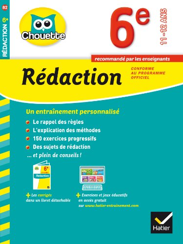 9782218976278: Collection Chouette: Redaction 6e (11-12 Ans)