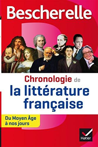 9782218977275: Chronologie de la littérature française: du Moyen Âge à nos jours