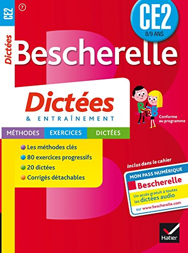 9782218978821: Les Cahiers Bescherelle - Dictees: Dictees Ce2 (8/9 Ans) (French Edition)