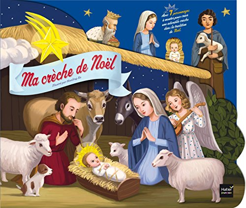 9782218981135: Ma crèche de Noël - A lire et à monter ensemble