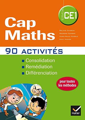 9782218982149: Cap Maths CE1 éd. 2014 - 90 Activités complémentaires pour la différenciation