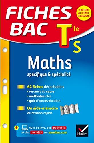 9782218986178: Fiches bac Maths Tle S (sp�cifique & sp�cialit�): fiches de r�vision - Terminale S
