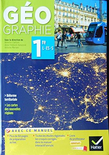 9782218986796: Geographie Manuel 1re l/Es/S Specimen 2015