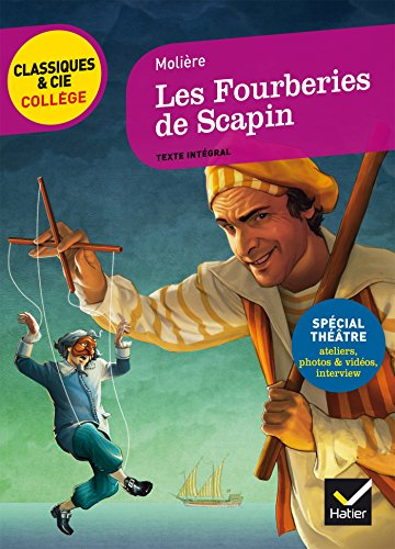 9782218987106: Les Fourberines De Scapin (French Edition)