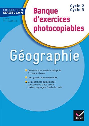 9782218988301: Magellan Géographie CE/CM Banque d'exercices éd. 2015 - Fichier photocopiable