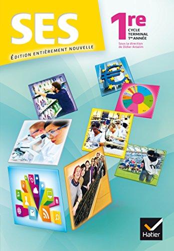 Sciences Economiques et Sociales 1re ES éd.: Karin Bakhti; Aurélie