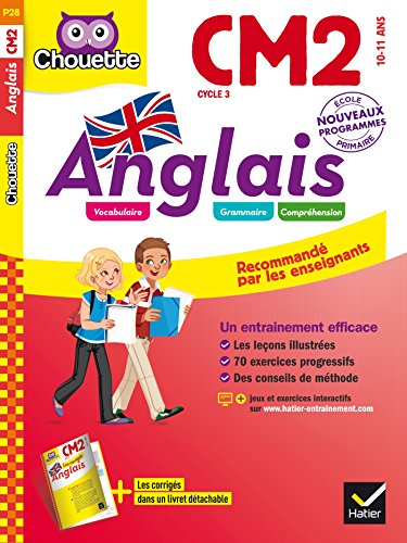9782218989940: Chouette Anglais: Anglais CM2 (10-11 ans)