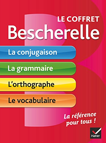 9782218992001: Le coffret Bescherelle: conjugaison / grammaire / orthographe / vocabulaire - Conjugation / Grammar / Spelling / Vocabulary in French (French Edition)