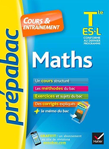 Prépabac Maths Tle ES, L: cours, méthodes: Abadie, Michel, Bréhéret,