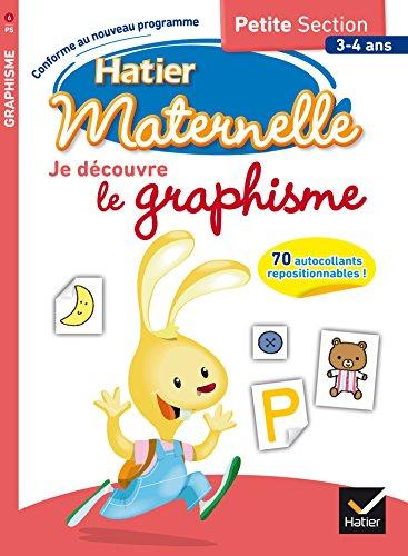 9782218995958: Je découvre le graphisme - Petite Section - 3-4 ans (French Edition)