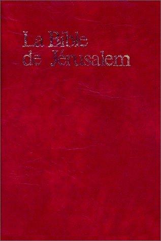 9782220020150: La Bible de Jérusalem