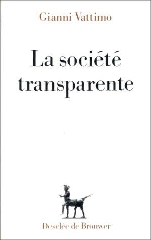 9782220031668: La soci�t� transparente