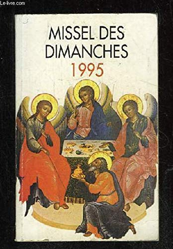 Missel des dimanches 1995: Église catholique; Auwers,