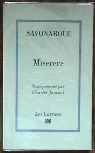 9782220035345: Miserere