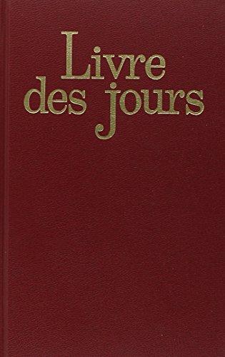 livre des jours nelle edition