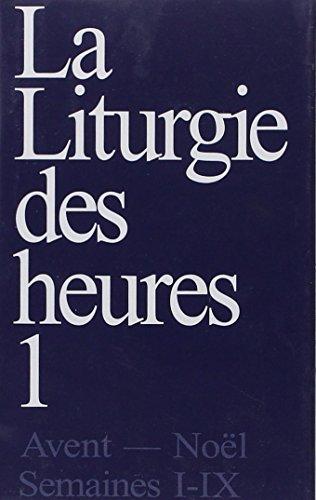 liturgie des heures t.1