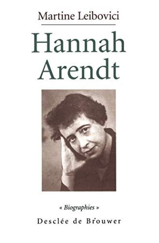 9782220047782: Hannah Arendt