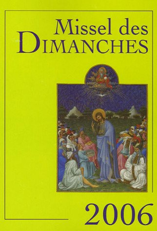Missel des dimanches (French Edition): Auwers, Jean Marie