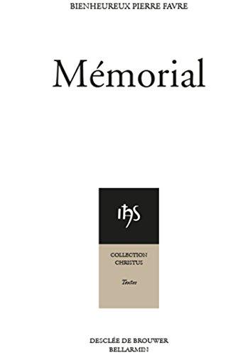 9782220057040: Memorial (Christus. textes)