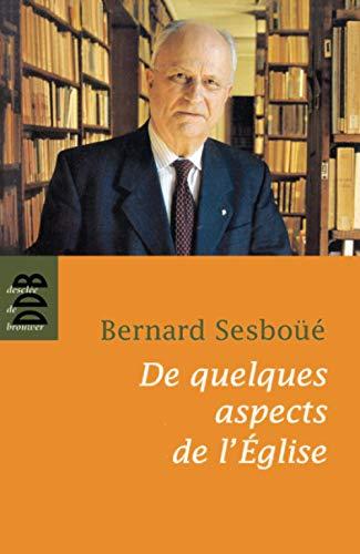 9782220062648: De quelques aspects de l'église (French Edition)