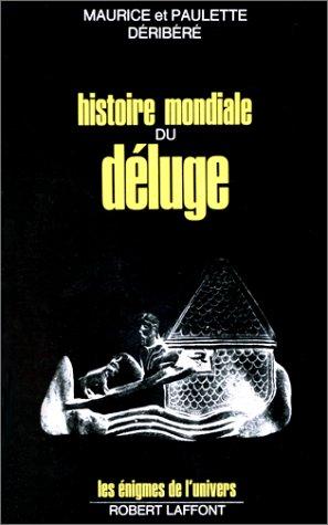 9782221001059: HISTOIRE MONDIALE DU DELUGE