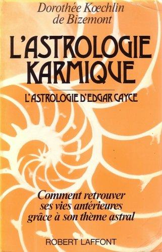 9782221009697: L'astrologie karmique (French Edition)