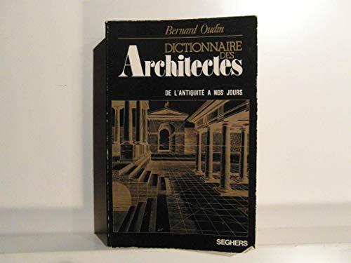 9782221010907: Dictionnaire des architectes (French Edition)