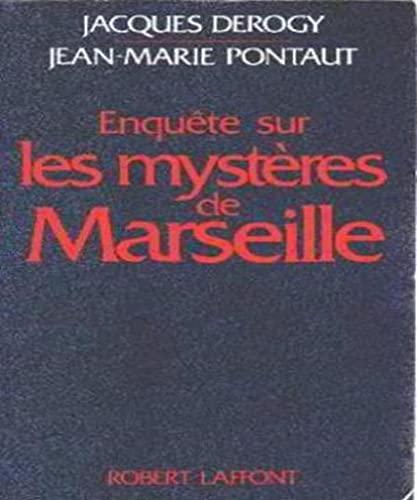 9782221011522: Enquète sur les mystères de Marseille
