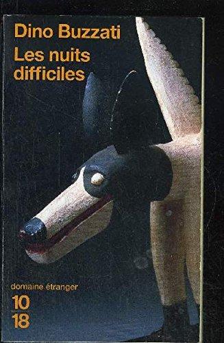 9782221017401: Les Nuits difficiles