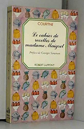 9782221020043: Cahier de recettes de madame maigret