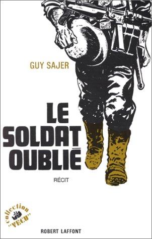 9782221037393: Le Soldat oublié