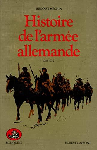 9782221045374: Histoire de l'arm�e allemande, 1918-1937
