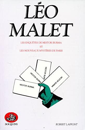 9782221046067: Les Enquêtes de Nestor Burma et Les nouveaux mystères de Paris. Oeuvres complètes, tome 1