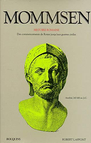 9782221046579: Mommsen, tome 1 : Histoire romaine
