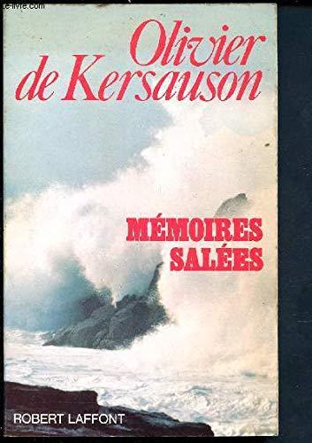 9782221047125: Mémoires salées (French Edition)
