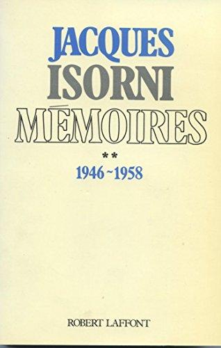 9782221047217: Mémoires t.II 1946-1958