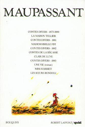 9782221047385: Oeuvres de Maupassant, tome 1 : Contes et nouvelles, romans