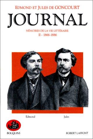 9782221059449: Journal des Goncourt, tome 2