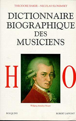 9782221067871: Dictionnaire biographique des musiciens, tome 2 : de H à O