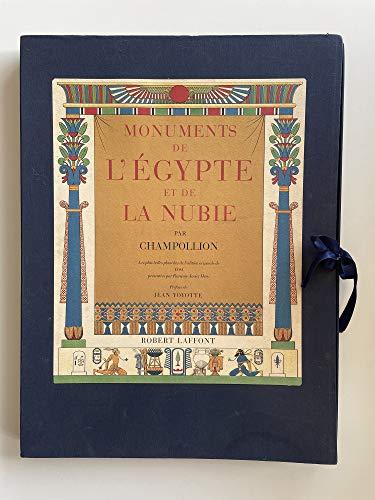 MONUMENTS DE L' EGYPTE ET DE LA: CHAMPOLLION., ( Jean