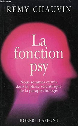 9782221069653: La fonction psy (French Edition)