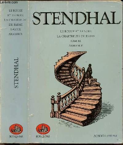 9782221070437: Stendhal : Le Rouge et le Noir - La Chartreuse de Parme - Lamiel - armance