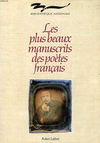 9782221072271: LES PLUS BEAUX MANUSCRITS DES POETES FRANCAIS. Edition 1991