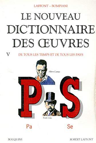 Nouveau dict des oeuvres t5 (French Edition): Robert Laffont